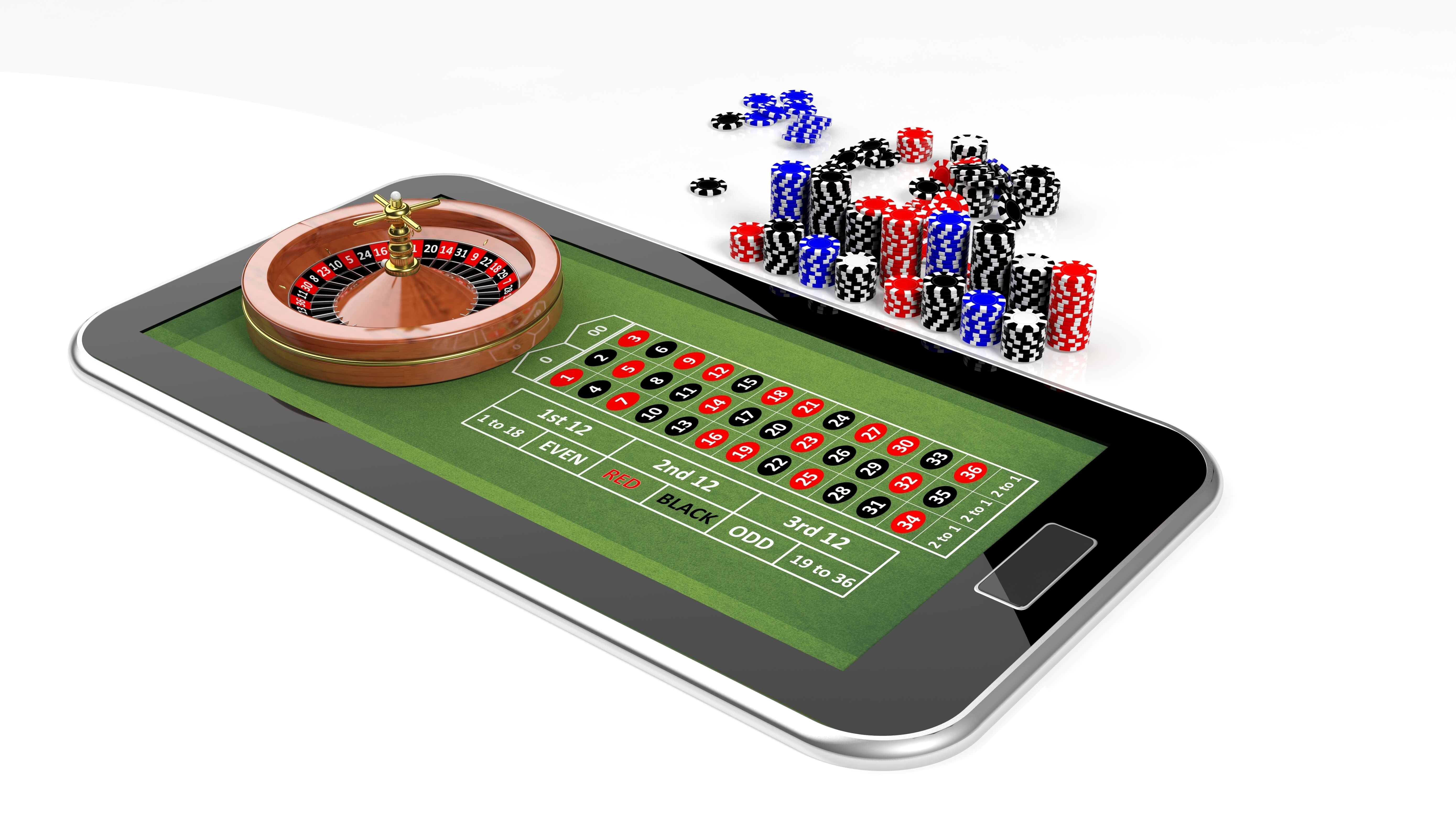 Online roulette on mobile