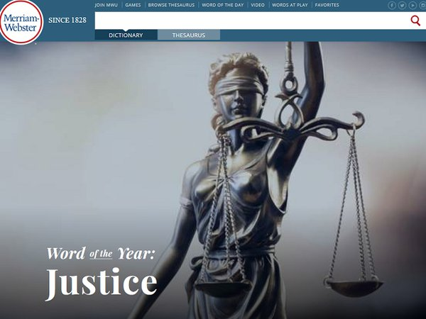 Словарь Merriam-Webster назвал слово 2018 года